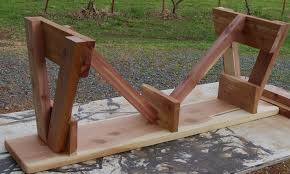 How To Build A Wooden Picnic Table by How To Build A Picnic Table And 6 Benches