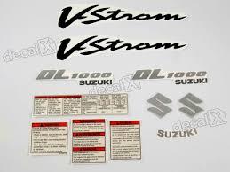 kit jogo faixa adesivo resinado suzuki vstrom dl1000 decalx