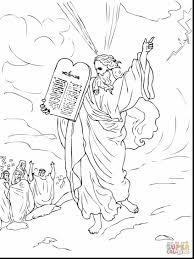 spectacular pails of paint ten commandments coloring pages with