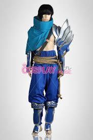 League Legends Halloween Costume League Legends Cosplay Yasuo Cosplay Costume Version 01 Lol