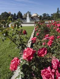 expo center exposition park rose garden city of los angeles