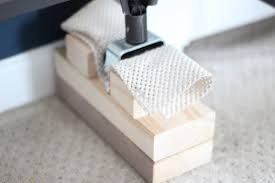 Casters For Bed Frame How To Make Bed Risers Shine Your Light