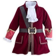 captain hook costume kids jake land pirates