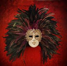 carnival masks 32 best carnival masks with feathers images on