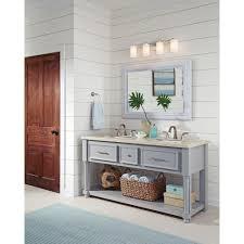 sea gull lighting hettinger chrome led bathroom light 4439104en