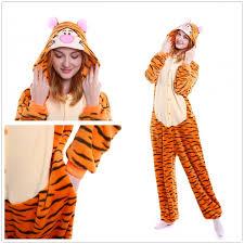 bengal tiger onesies kigurumi pajamas