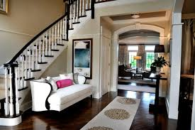 White Runner Rug Foyer Ideas Decorating Entry Traditional With Pink Throw Pillow