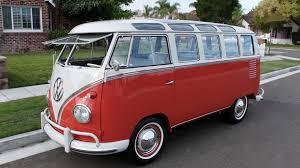volkswagen van front view 1959 volkswagen samba 23 window bus s91 anaheim 2016