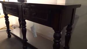 server dining room ashley furniture porter dining server d69760 review youtube
