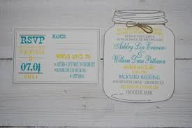 Backyard Wedding Invitations Using Mason Jar Wedding Invitations U2014 Criolla Brithday U0026 Wedding