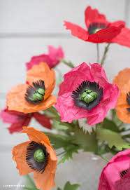 tissue paper poppies lia griffith