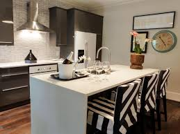narrow kitchen with island small kitchen island ideas pictures tips from hgtv hgtv
