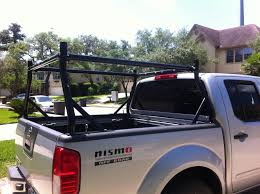 nissan frontier work truck opinions on ladder type rack that can be mounted with truck box