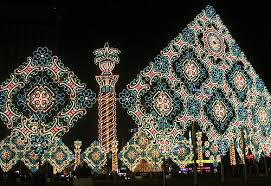 light displays from around the world neatorama