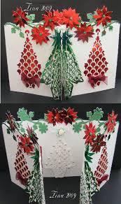 svg file template christmas 3d tree door card 2 44