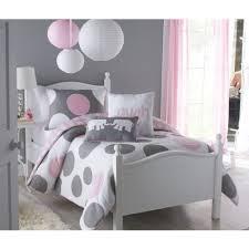 vcny home parade polka dot reversible kids bedding comforter