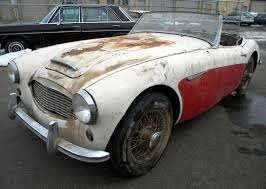 Barn Fresh Cars Desert Fresh 1957 Austin Healey 100 6