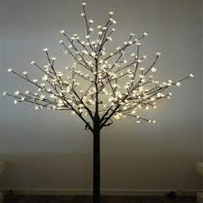 led tree china 2m brown cherry trees led christmas tree lights 110 240v