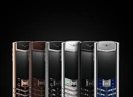 signature mobile phone collections vertu