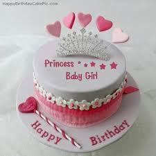 baby girl birthday amazing design baby girl birthday cake sumptuous princess for