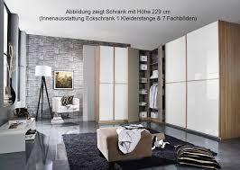 Schlafzimmerschrank Mit Eckschrank Rauch Essensa Schrank Kombi Weiß Grau Möbel Letz Ihr Online Shop