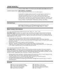 Resume Samples For Mechanical Engineers by Field Service Engineer Resume Sample Resume For Your Job Application
