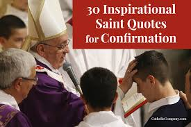30 inspirational saint quotes for confirmation png