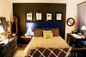 bedroom apartment bedroom ideas bedding bench dark wall hardwood