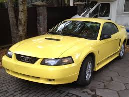 2001 Shelby Mustang Ebay 2001 Ford Mustang 2001 Ford Mustang Coupe Zinc Yellow