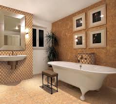 small bathroom ceramic tile design floating bench having black