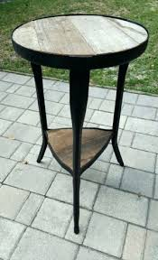 Small Metal Accent Table Side Table Wood And Metal Small Side Table Small Metal Side