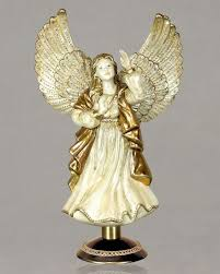 angel christmas tree topper strongwater rejoicing angel christmas tree topper