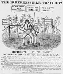 solar plexus punch boxing ephemera assemblyman abraham lincoln political cartoons