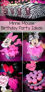 minnie mouse party ideas minnie mouse birthday party ideas zebra style with