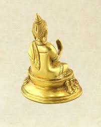 blessings medicine buddha brass statue spiritual home decor sivalya