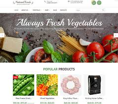 15 new ecommerce templates u0026 themes for foods u0026 beverages websites