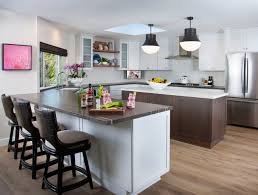 white shaker kitchen cabinets wood floors 75 beautiful light wood floor kitchen pictures ideas