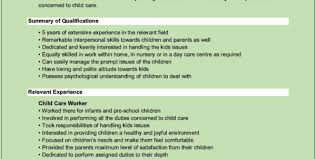 Child Care Assistant Job Description For Resume by Home Child Care Resume Sample Child Care Resume Skills Child Care
