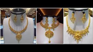 gold necklace india images Top 50 gold necklace designs indian jewellery designs jpg