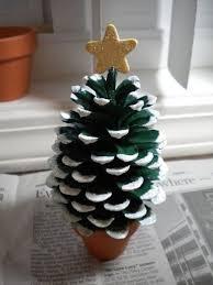 Christmas Tree Decoration Craft Ideas - 26 diy christmas pine cone crafts for a festive decoration