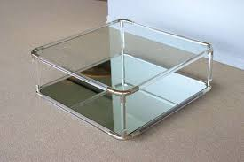 acrylic coffee table elegant in living room u2014 montserrat home design