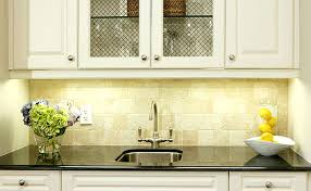 Yellow Kitchen Backsplash Ideas Beige Kitchen Backsplash Ideas With Granite Countertops Design