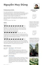 Web Design Resume Example by Web Master Resume Samples Visualcv Resume Samples Database