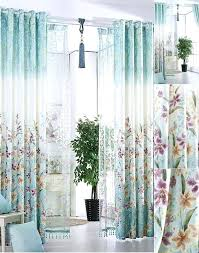 Blue And White Floral Curtains Black And White Floral Curtains For Bedroom Koszi Club