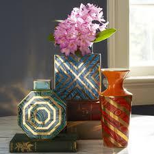 Vases Com Malachite Twist Vase Pottery Jonathan Adler