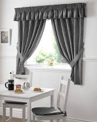 Black Check Curtains Black Check Curtains Cheap Window Curtains Available Terrys