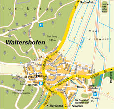 Freiburg Germany Map by Map Waltershofen Germany City Center Central Downtown Maps And
