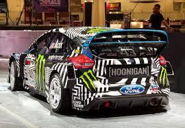 hoonigan cars real life ken block u0027s office sema2016 fordfocus hoonigan driftmachine
