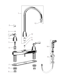 standard kitchen faucet repair standard kitchen faucet repair parts 28 images order