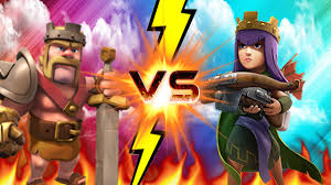 clash of clans dragon wallpaper clash of clans barbarian king vs archer queen